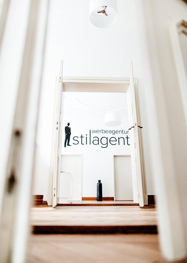 Agentur Impression Ansicht Büro von unten